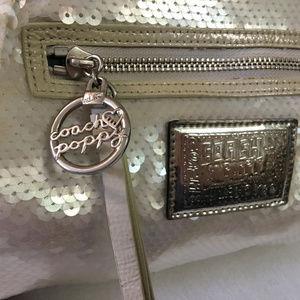 Coach Bags - SOLD! COACH Poppy Opal Sequins Rocker Satchel